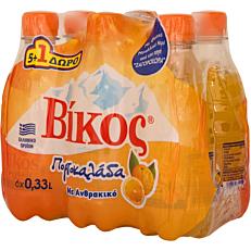 Αναψυκτικό ΒΙΚΟΣ πορτοκαλάδα (6x330ml)