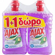 Καθαριστικό AJAX για το πάτωμα 1+1 ΔΩΡΟ, υγρό (1lt)