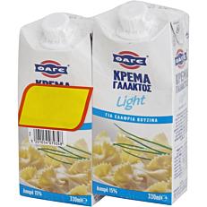 Κρέμα γάλακτος ΦΑΓΕ light -1,5€ (2x330ml)
