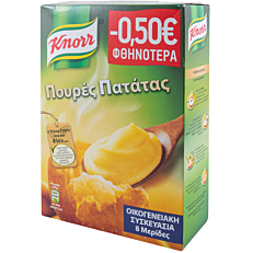 Πουρές KNORR πατάτας -0,50€ (250g)