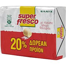 Μαργαρίνη ΕΛΑΪΣ super fresco 20% ΔΩΡΕΑΝ προϊόν (250g)