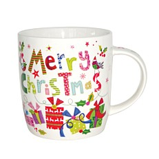 Κούπα πορσελάνη Merry Christmas 12oz