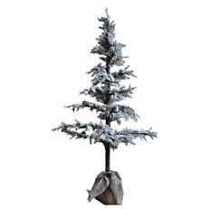 Χριστουγεννιάτικο δέντρο χιονισμένο με τσουβάλι 140cm