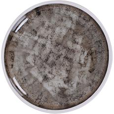 Πιάτο ρηχό με υφή μαρμάρου Stoneware Φ20cm