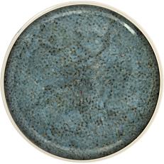 Πιάτο ρηχό με υφή μαρμάρου Stoneware Φ26,5cm