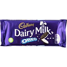 Σοκολάτα CADBURY Dairy Milk γάλακτος με OREO (120g)