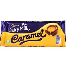 Σοκολάτα CADBURY Dairy Milk γάλακτος με καραμέλα (120g)