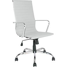 Πολυθρόνα γραφείου Pu λευκή