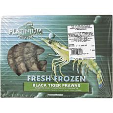 Γαρίδες black tiger 13-15 κατεψυγμένες (1kg)