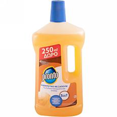 Απορρυπαντικό πατώματος PRONTO με σαπούνι 5 σε 1 (1lt)