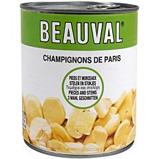 Κονσέρβα BEAUVAL μανιτάρια κομμένα (1kg)
