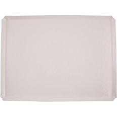Δίσκος ανάγλυφος GARIBALDI ONDA λευκός 30x40cm