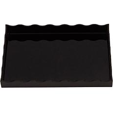 Δίσκος παρουσίασης GARIBALDI Arc μαύρος 14x21cm