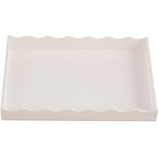 Δίσκος plexiglas GARIBALDI Arc λευκός 14x21cm