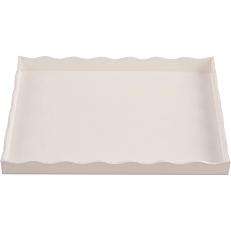 Δίσκος plexiglas GARIBALDI Arc λευκός 21x28cm