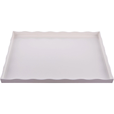 Δίσκος plexiglas GARIBALDI Arc λευκός 28x42cm