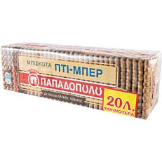 Μπισκότα ΠΑΠΑΔΟΠΟΥΛΟΥ ολικής αλέσεως (225g)