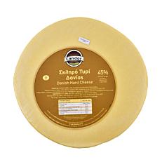 Τυρί CANDOR σκληρό 45% λιπαρά Δανίας (~9kg)