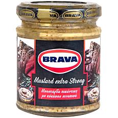 Μουστάρδα BRAVA με κόκκους (200g)