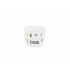Μπολ χάρτινα παγωτού 250ml (50τεμ.)
