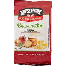 Παξιμαδάκια TOTTIS Bruschettini πίτσα (80g)