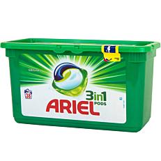 Απορρυπαντικό ARIEL Original 3 σε 1 πλυντηρίου ρούχων, σε υγρές κάψουλες (38τεμ.)