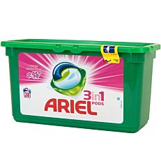Απορρυπαντικό ARIEL FRESH SENSATIONS 3 σε 1 πλυντηρίου ρούχων, σε υγρές κάψουλες (38τεμ.)