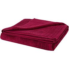 Πετσέτα RESORT LINE σώματος βαμβακερή μπορντώ 100x160cm