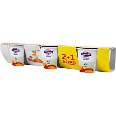 Γιαούρτι επιδόρπιο ΦΑΓΕ Total 2% λιπαρά με μέλι 2+1 ΔΩΡΟ (3x170g)