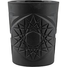 Ποτήρι UNIGLASS Funky μαύρο ματ 34cl Φ8,8x10,6cm (12τεμ.)