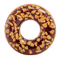 Φουσκωτή κουλούρα INTEX donut σοκολάτα Φ114cm
