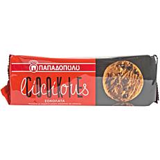 Μπισκότα ΠΑΠΑΔΟΠΟΥΛΟΥ COOKIElicious με σοκολάτα (180g)