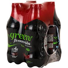 Αναψυκτικό GREEN βυσσινάδα (4x330ml)