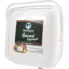 Λευκό τυρί ΤΡΙΠΟΛΗ αγελάδος σε δοχείο (4kg)