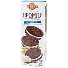 Μπισκότα ΒΙΟΛΑΝΤΑ βρώμης με μαύρο κακάο γεμιστά με βανίλια (180g)
