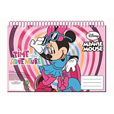Μπλοκ ζωγραφικής GIM Minnie A4 σπιράλ 30 φύλλων