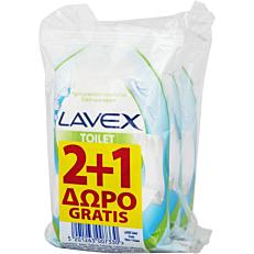 Υγρά μαντηλάκια LAVEX τουαλέτας fresh (10x3τεμ.)