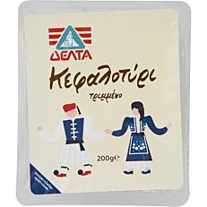 Τυρί ΔΕΛΤΑ καφαλοτύρι τριμμένο (200g)