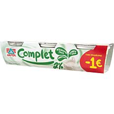 Γιαούρτι επιδόρπιο COMPLET 2% λιπαρά -1€€ (3x200g) Να μπει το ΔΕΛΤΑ ως brand