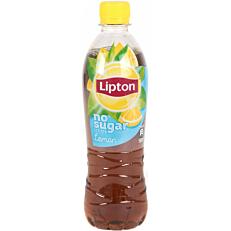 Αφέψημα LIPTON λεμόνι χωρίς ζάχαρη (500ml)