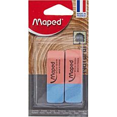 Γόμα MAPED duo-gom δίχρωμη (2τεμ.)