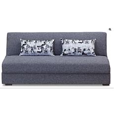 Καναπές 3θέσιος loft με γκρι ύφασμα 190x90x80cm