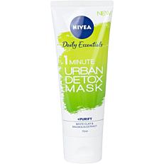Μάσκα NIVEA Daily Essentials 1 minute detox (75ml)
