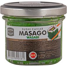 Χαβιάρι MASAGO CAPELIN wasabi (80g)