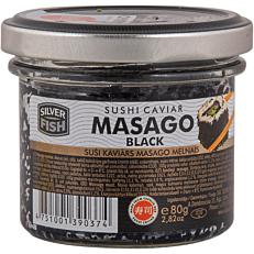 Χαβιάρι MASAGO CAPELIN μαύρο (80g)