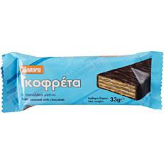 Γκοφρέτα BONORA με σοκολάτα υγείας (33g)
