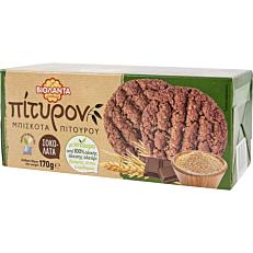 Μπισκότα ΒΙΟΛΑΝΤΑ πίτυρον με σοκολάτα (170g)