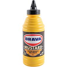Μουστάρδα BRAVA απαλή με μέλι (460g)