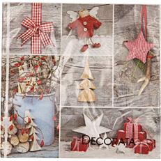 Χαρτοπετσέτες ornaments 3φυλλες (20τεμ.)