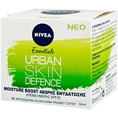 Κρέμα ημέρας NIVEA Urban Skin Defence (50ml)